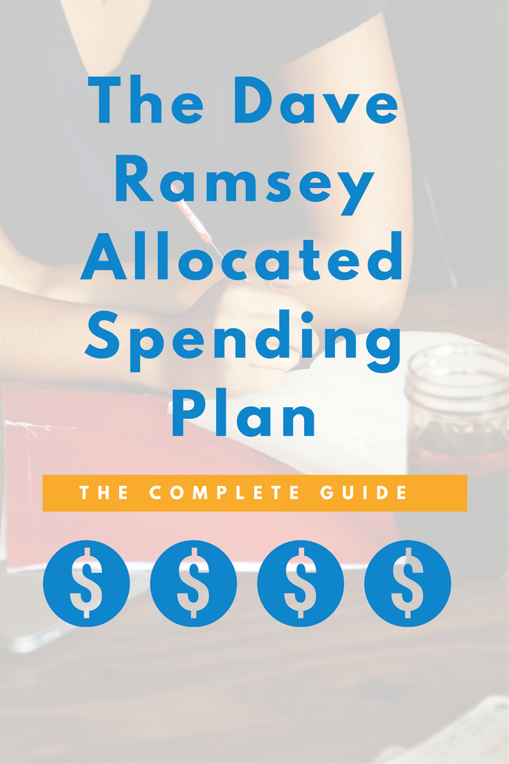Dave Ramsey Allocated Spending Plan Excel Spreadsheet_9
