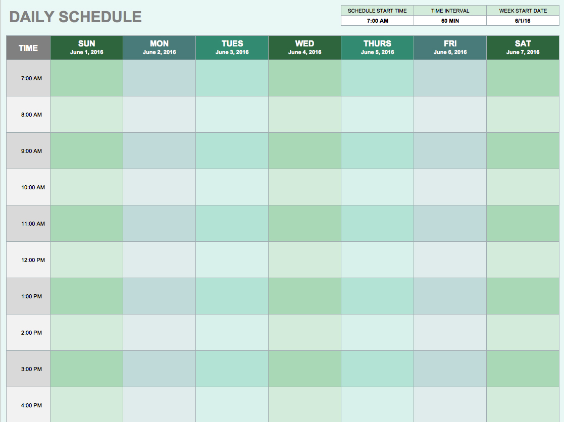 Free Construction Schedule Spreadsheet template