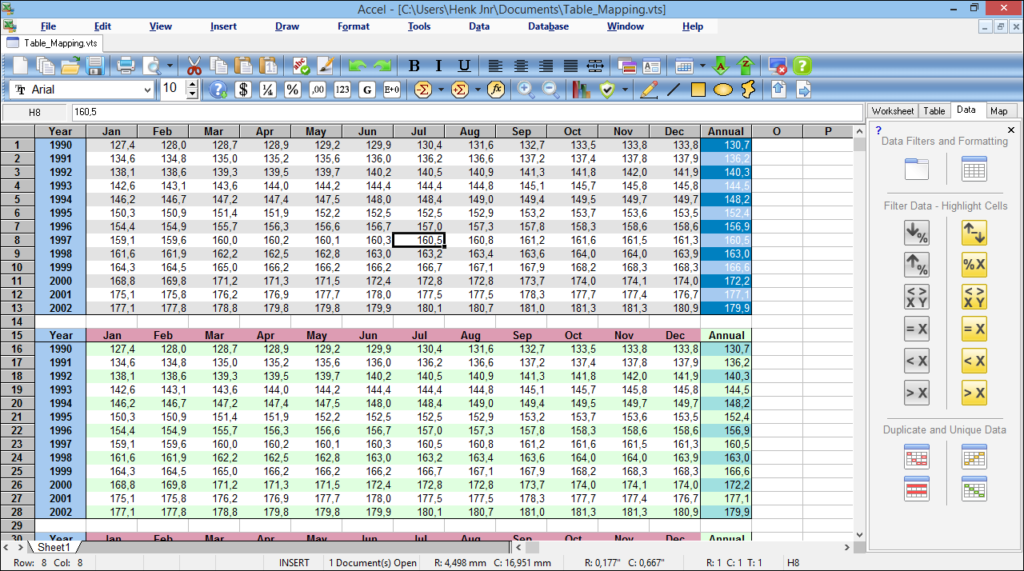 Free Spreadsheet Software For Windows 8_0