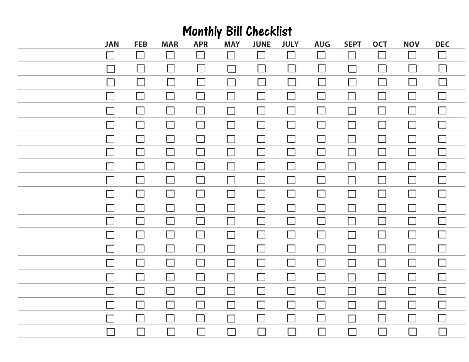 How To Make A Spreadsheet For Monthly Bills_23