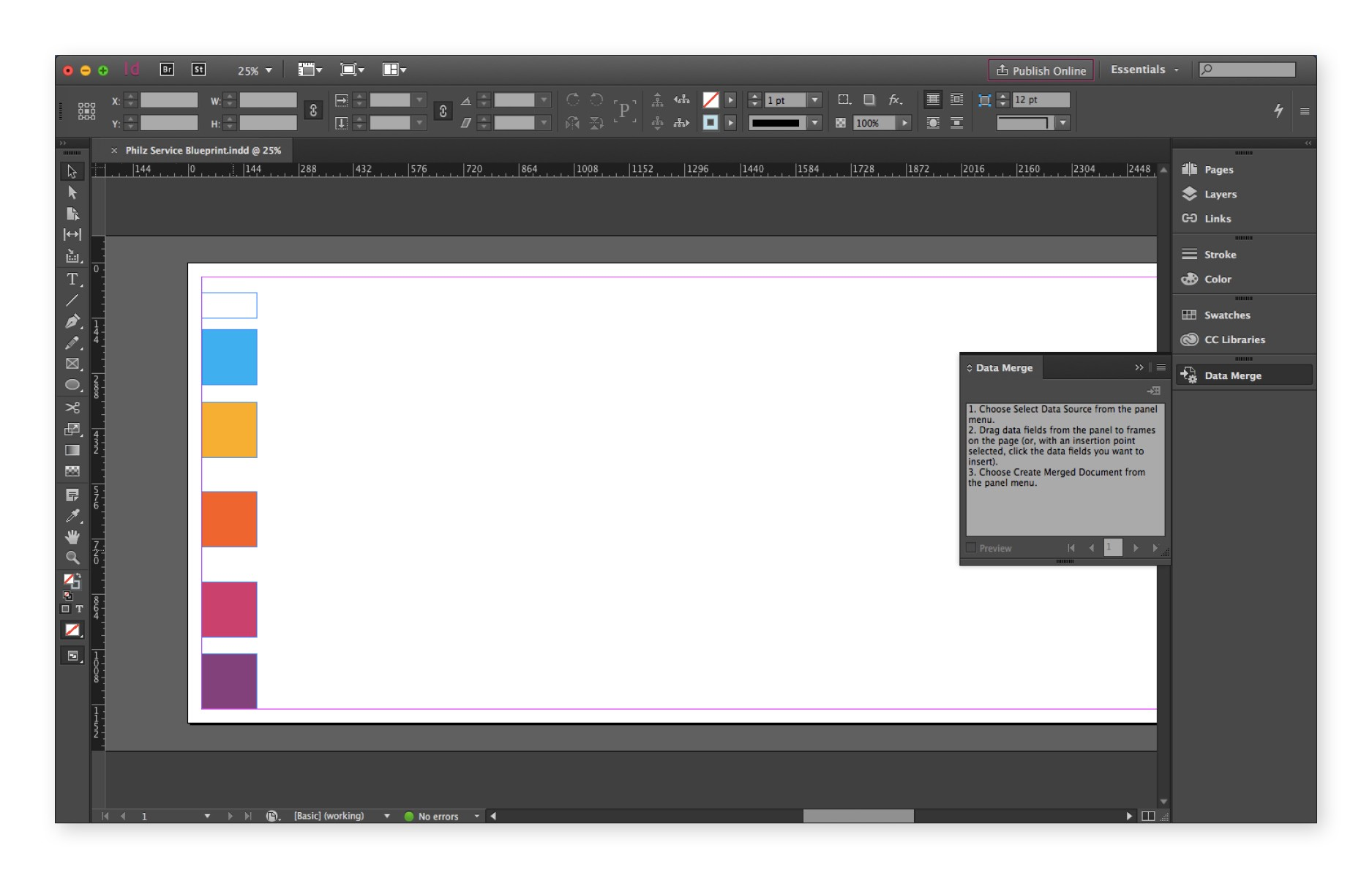 Indesign Spreadsheet Free Templates