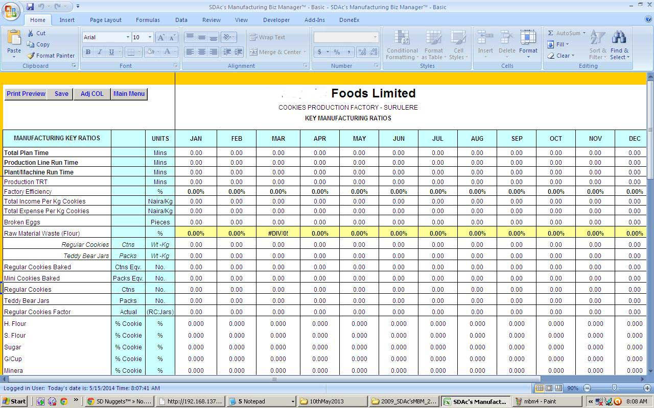 Vacation Time Accrual Spreadsheet templates