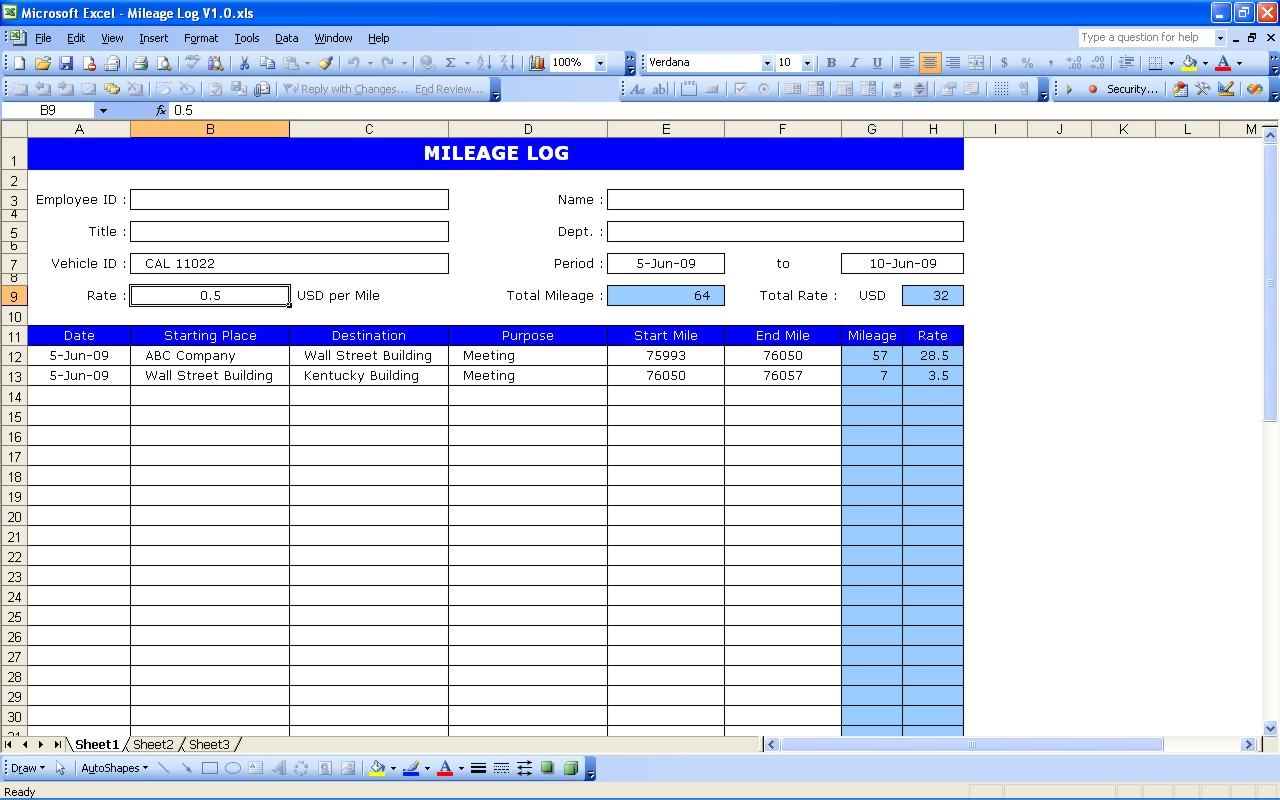 aircraft status sheet excel