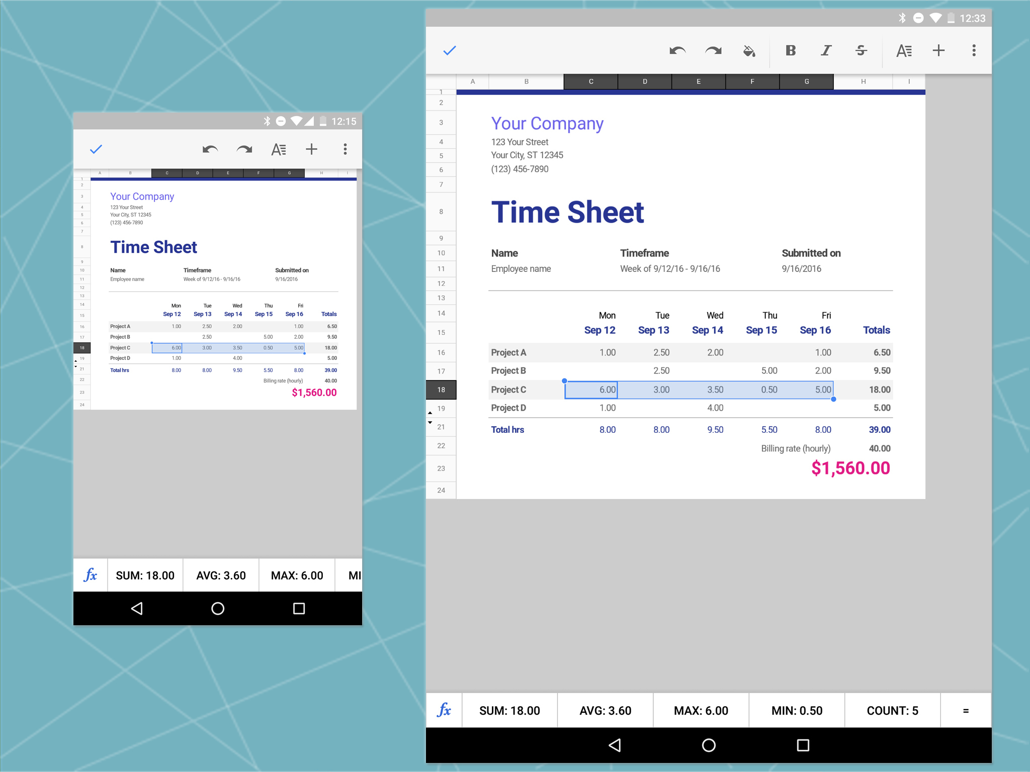 best free spreadsheet apps for ipad