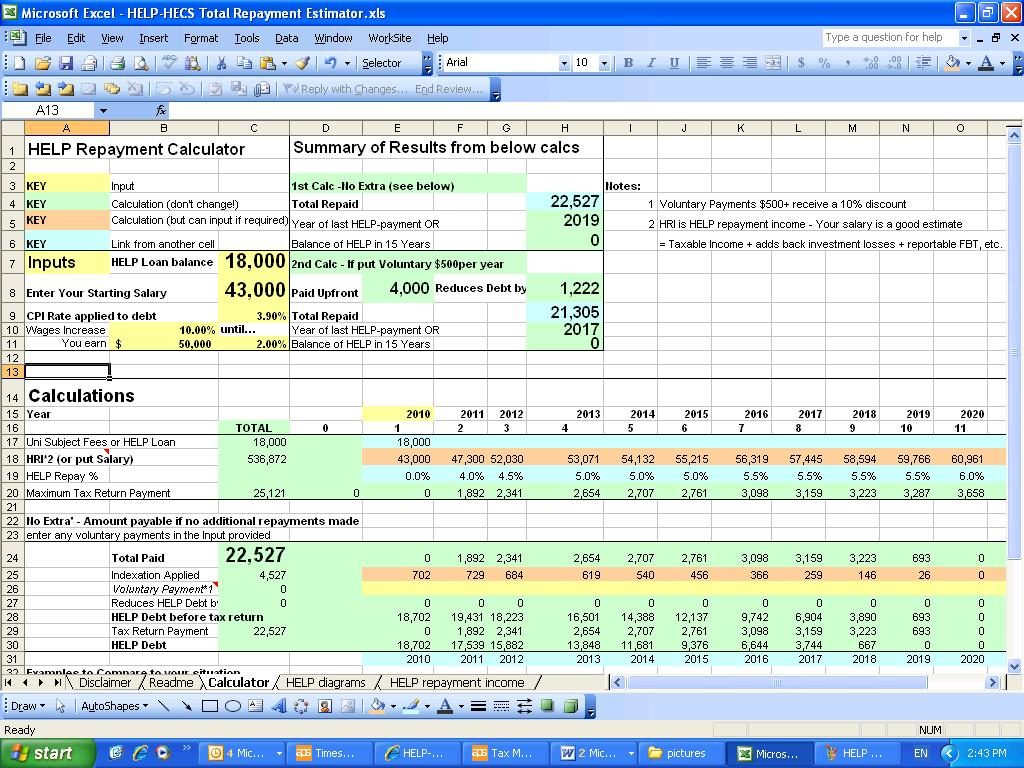 loan amortization extra payments