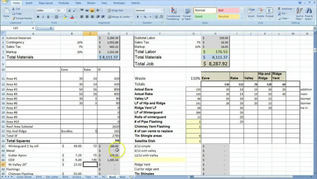 Construction Schedule Using Excel Template Free Download