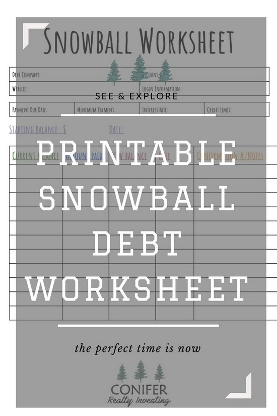 Debt payoff calculator snowball excel