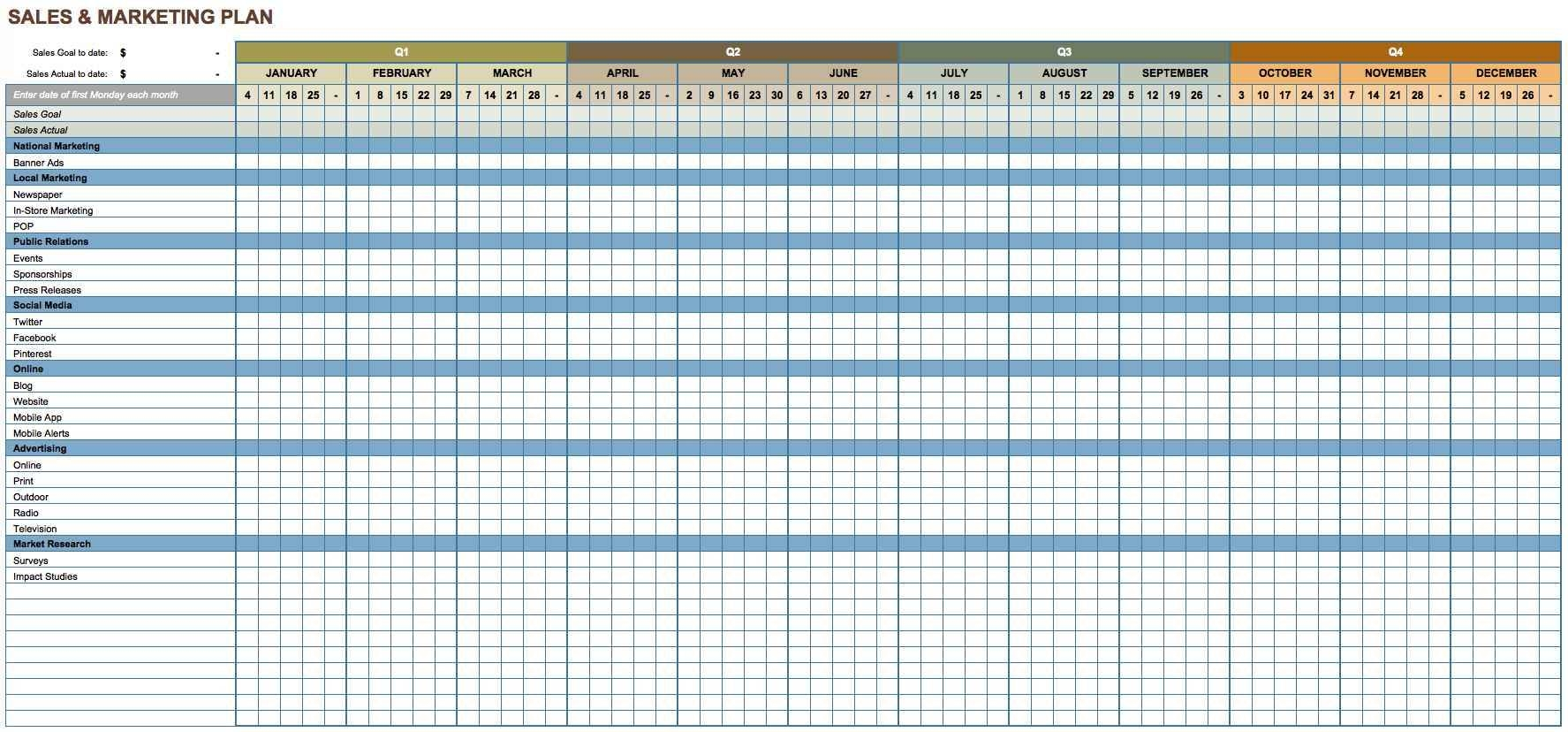 sample excel download