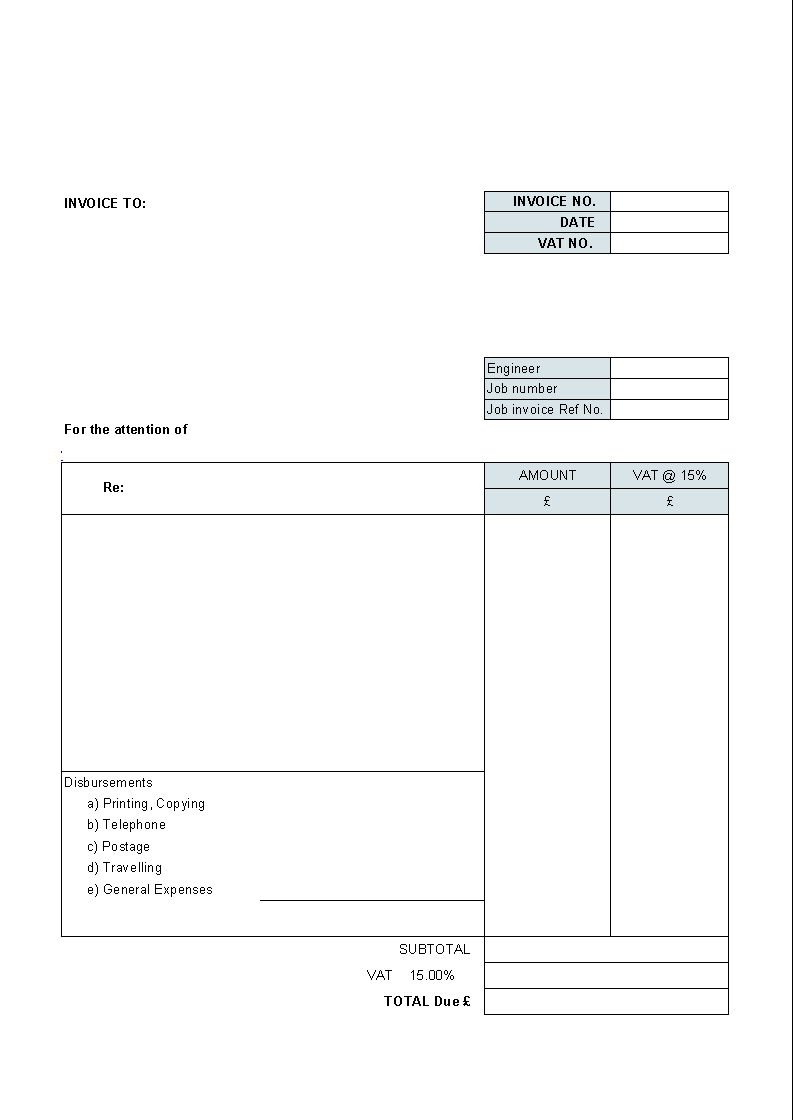 Simple Spreadsheet For Ipad LAOBINGKAISUOCOM - Free invoice template printable online hair store