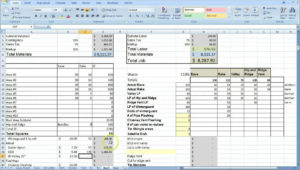 excel contract management database template