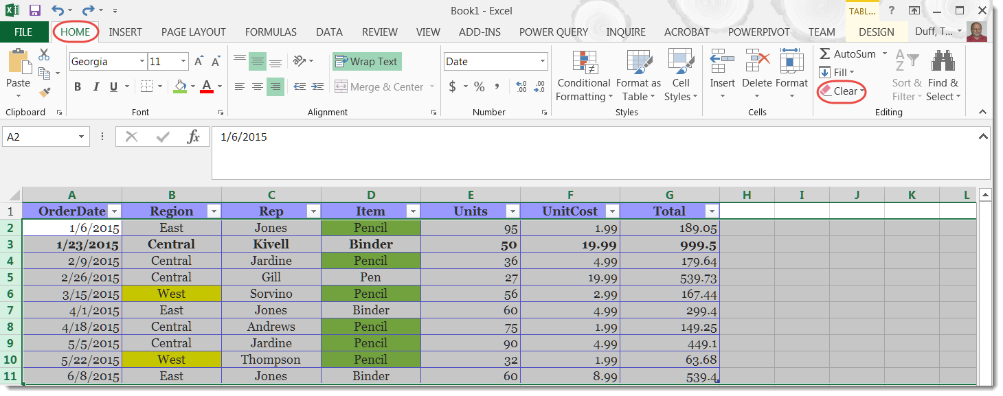 excel spreadsheet examples