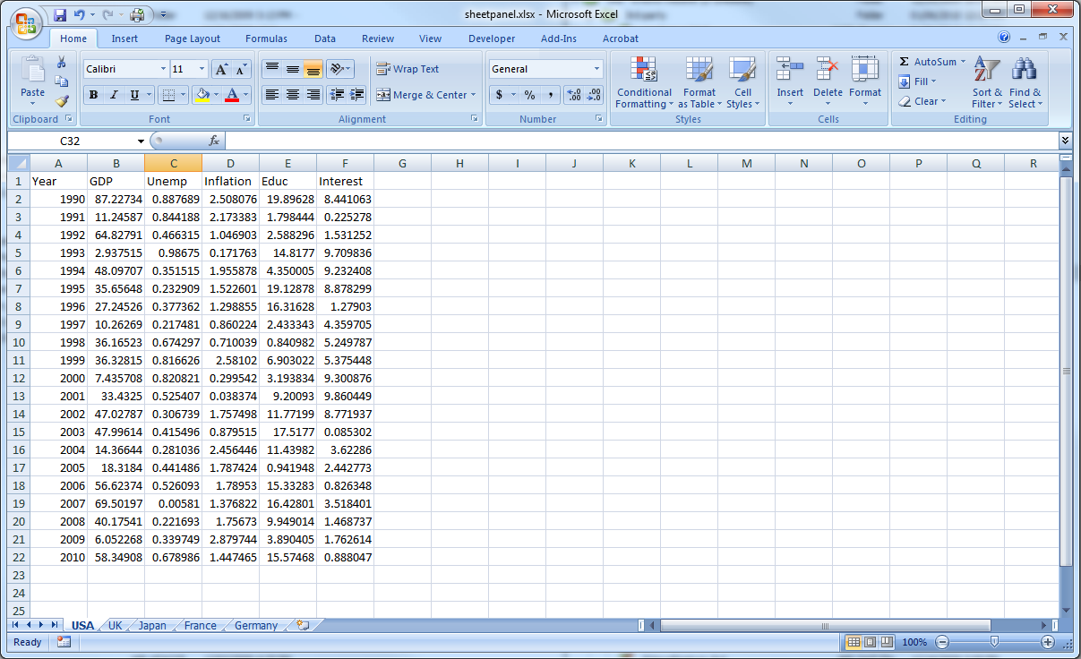 budget examples in excel