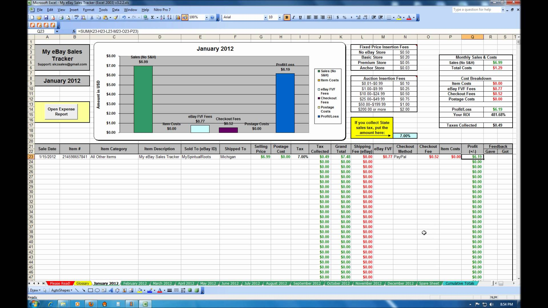 free Accounts Payable Tracking Spreadsheet templates ...