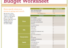 free best way to make a budget spreadsheet templates