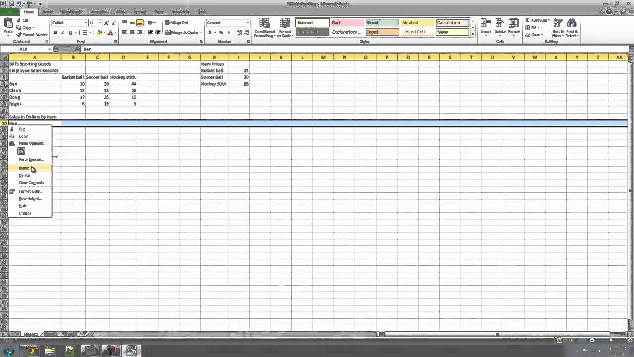 tracking sales calls spreadsheet