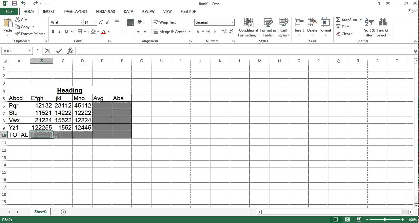 free download templates Spreadsheet Test For Interview