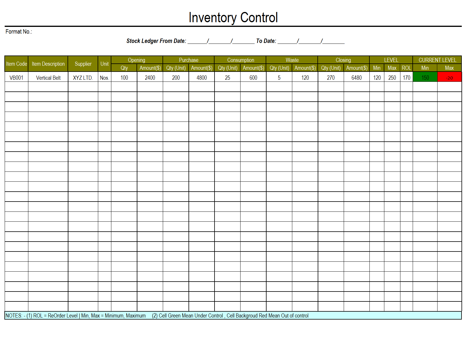 Worksheet Stock Control Template free excel sheet for stock management laobingkaisuo com management