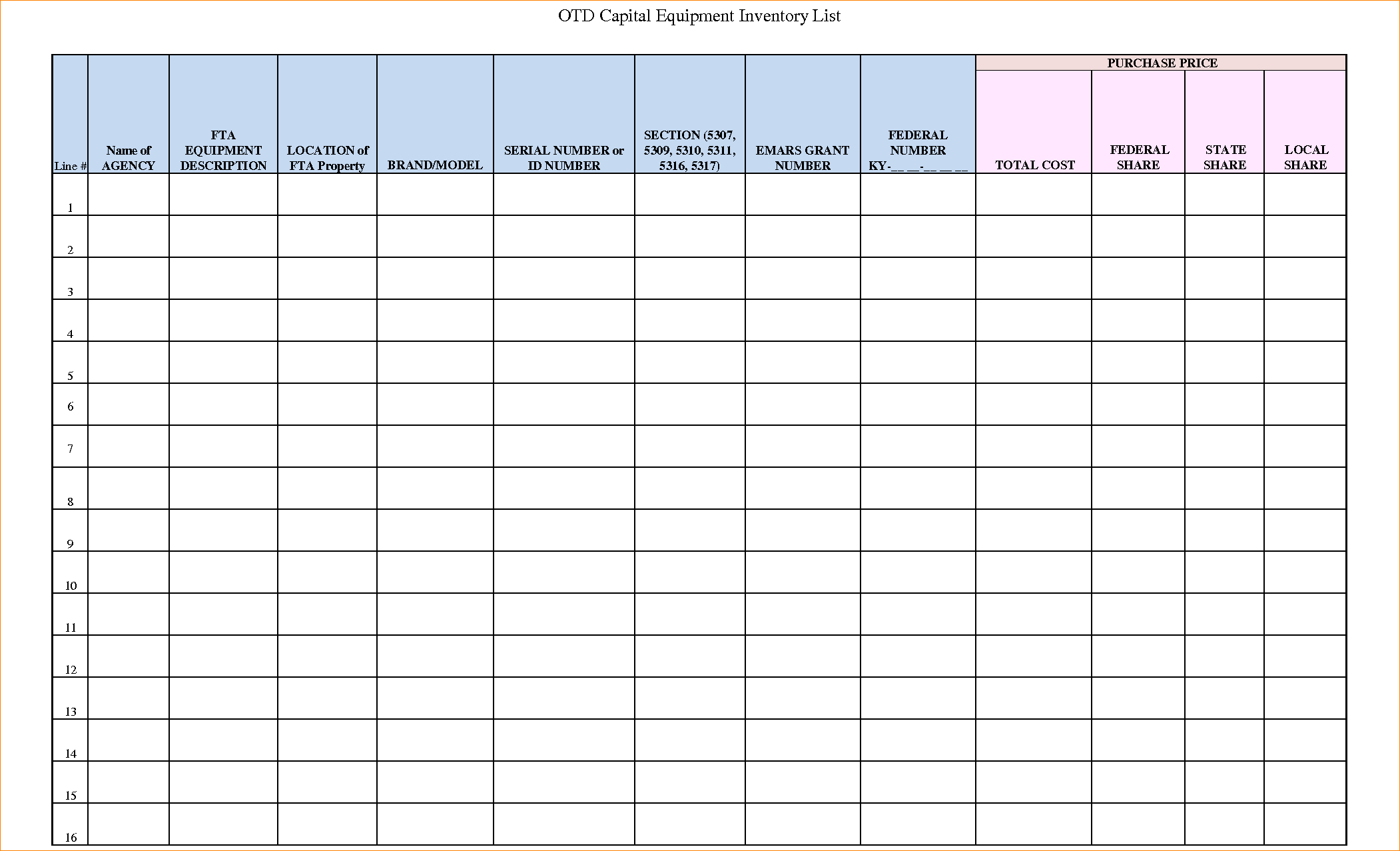inventory spreadsheet excel free