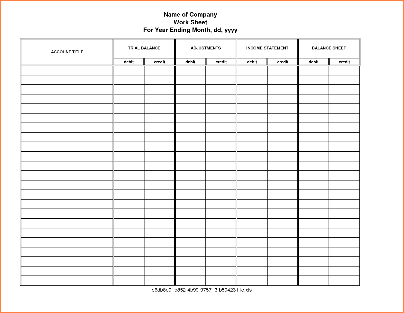 free rental property record keeping template