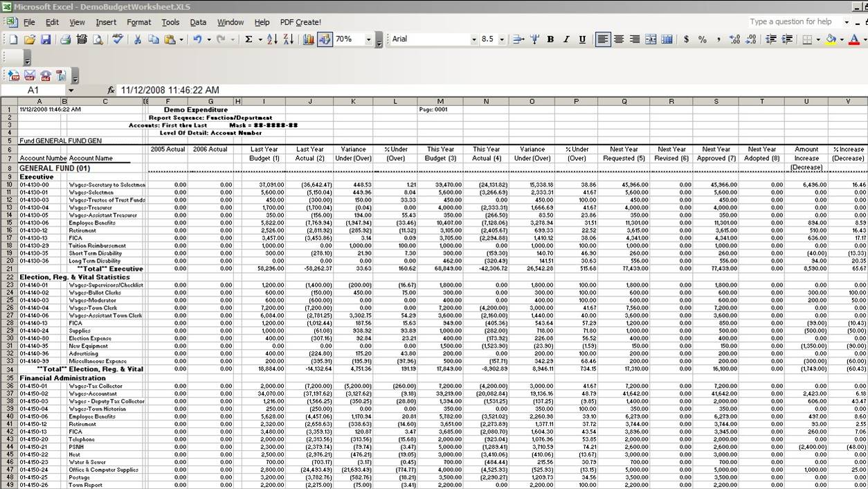 free templates Sample Accounting Spreadsheets For Excel