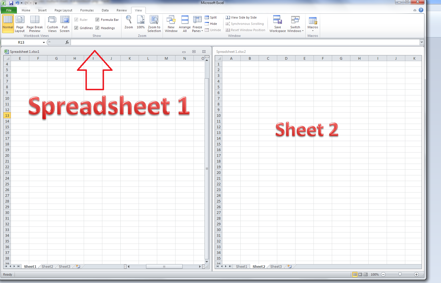 free templates parts of an excel spreadsheet
