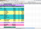 free tutorial how to create a budget spreadsheet in excel