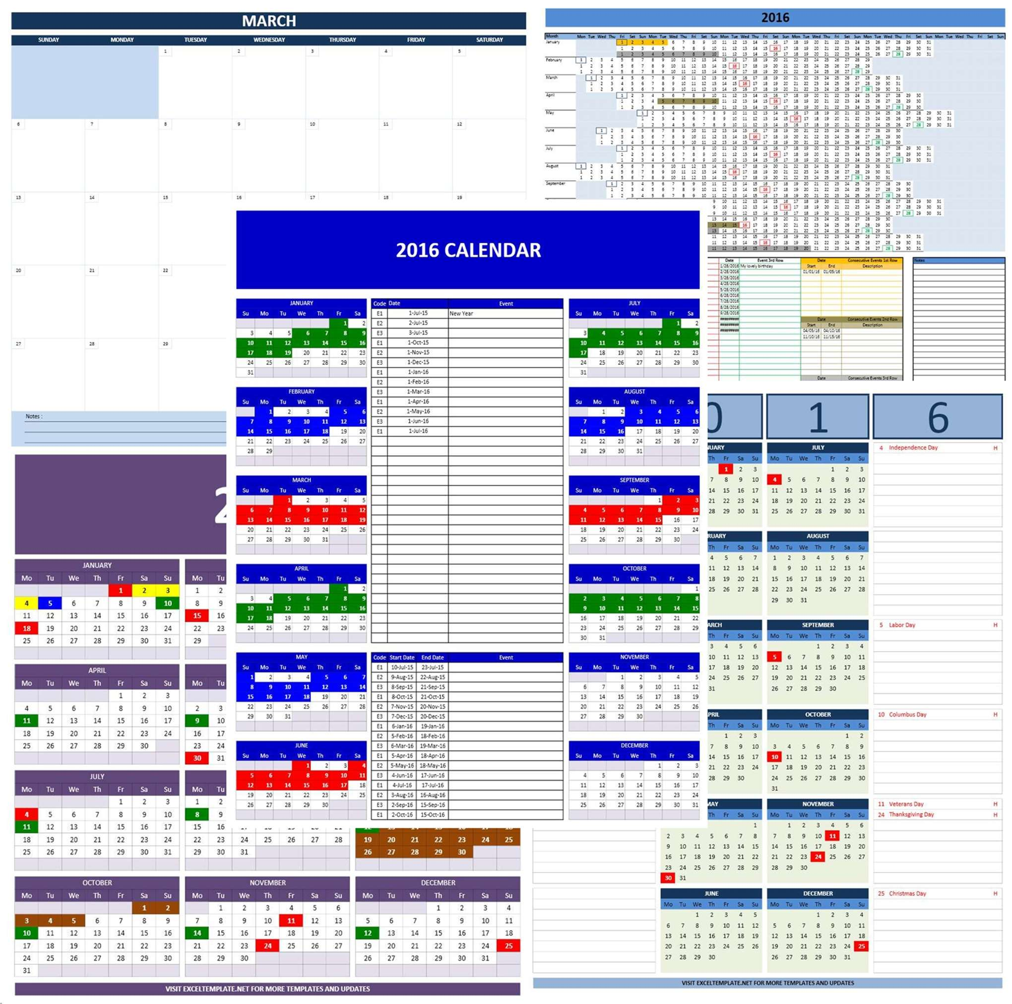 Google Docs Calendar Spreadsheet Template