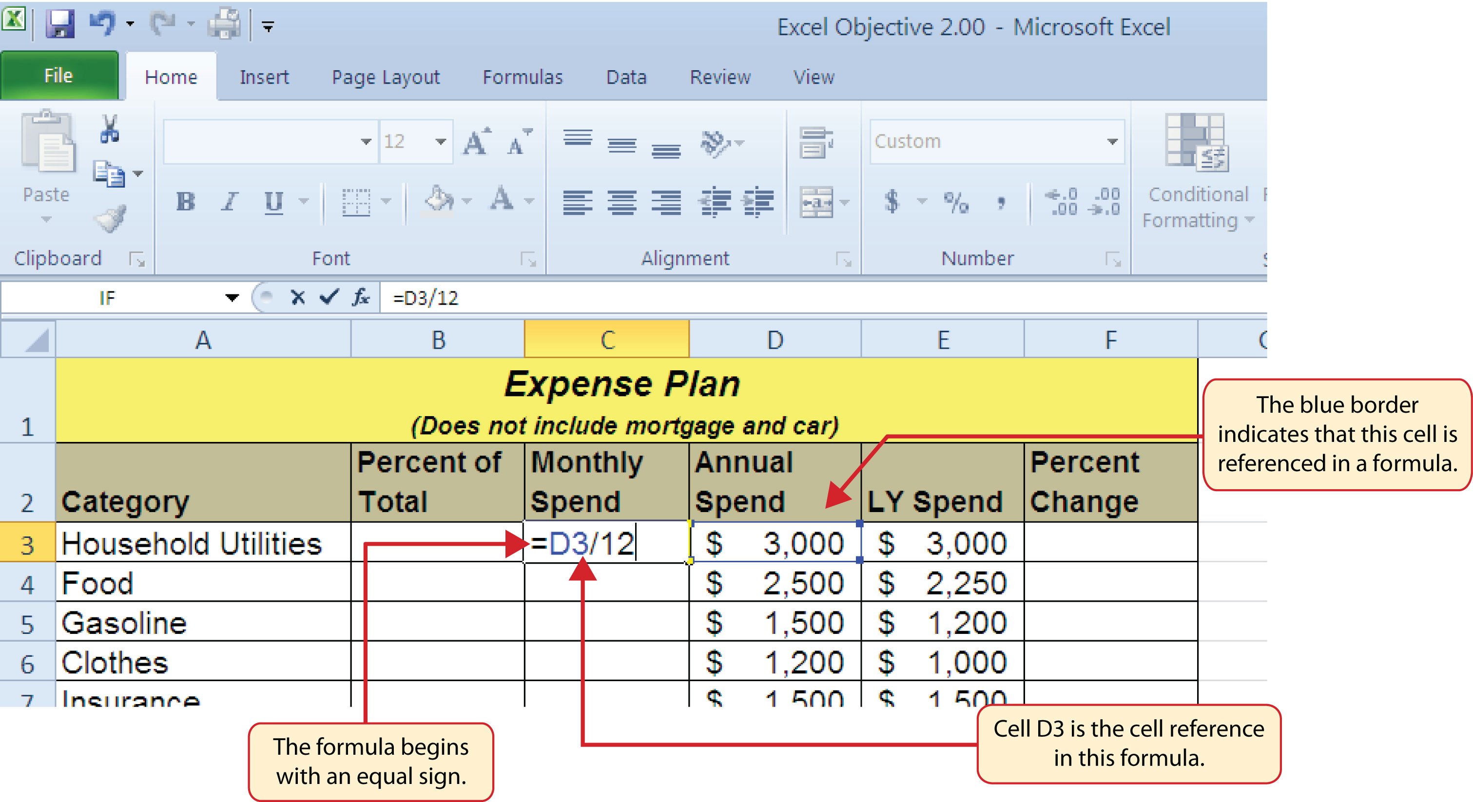 greater than or equal to in excel