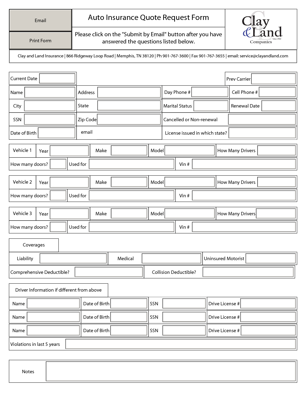 quote sheets templates