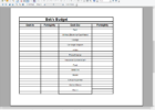 how to budget and save money spreadsheet templates