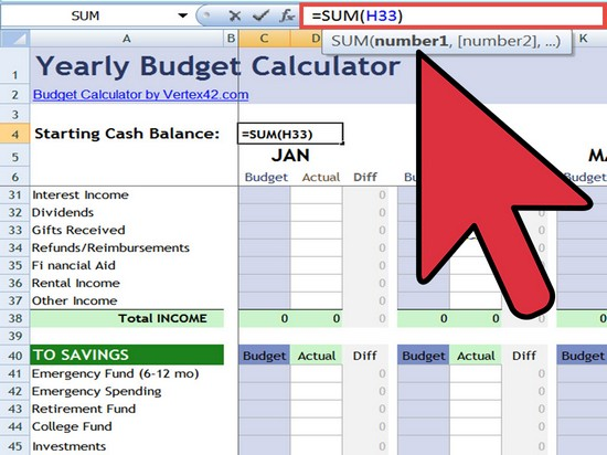 how to build a spreadsheet in excel 2010