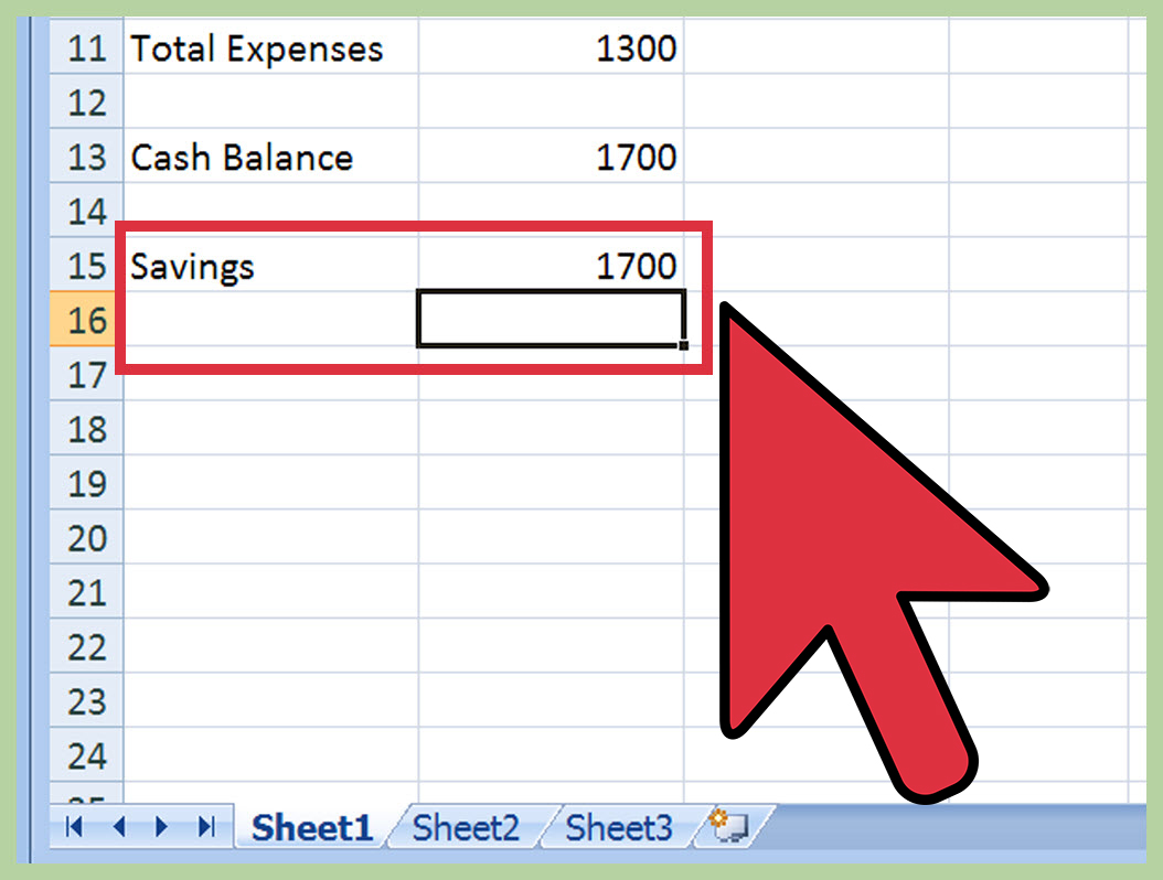 how to make a home budget spreadsheet