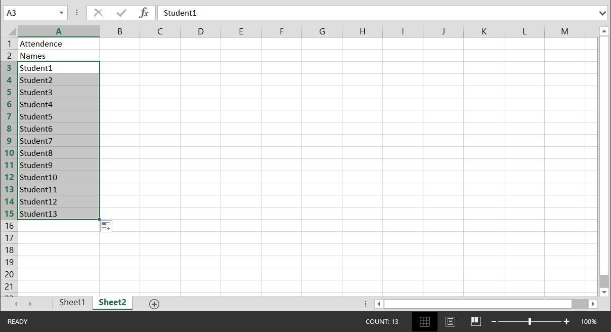 how to make a master excel spreadsheet