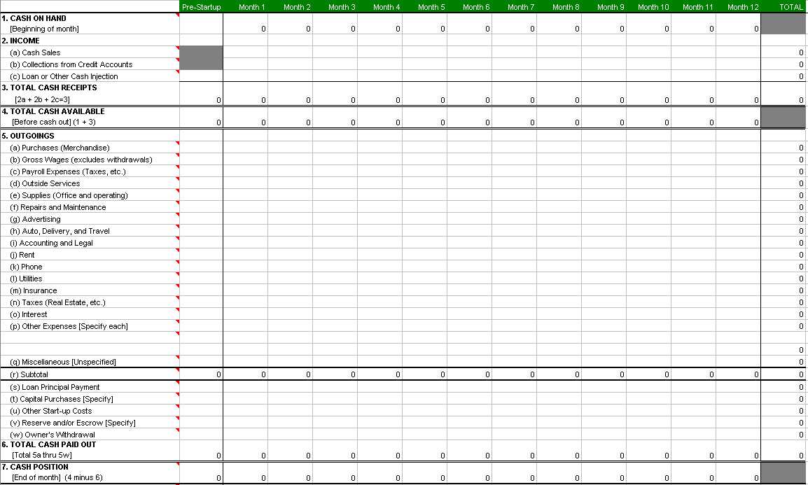 how to make a spreadsheet with excel