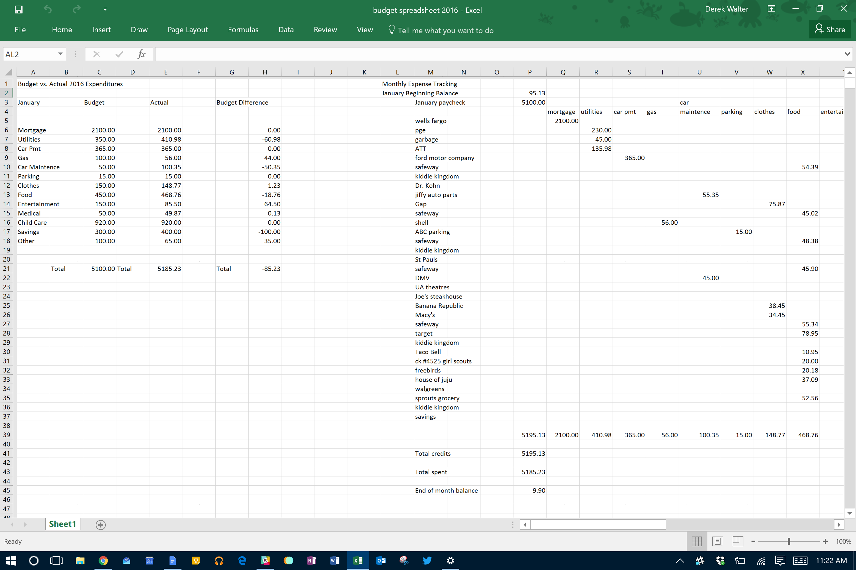 how to make an excel spreadsheet look nice