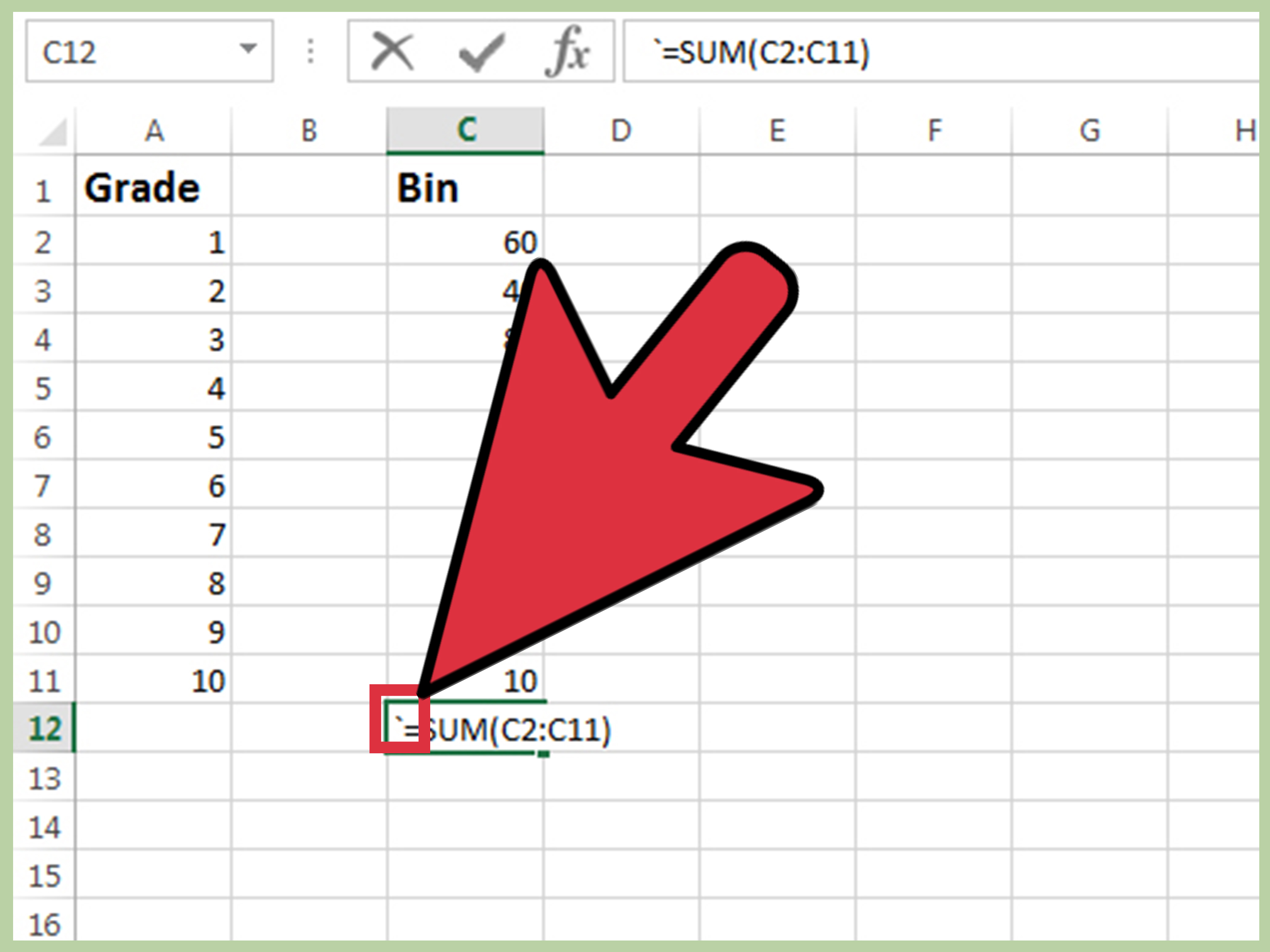 how to make spreadsheet on excel