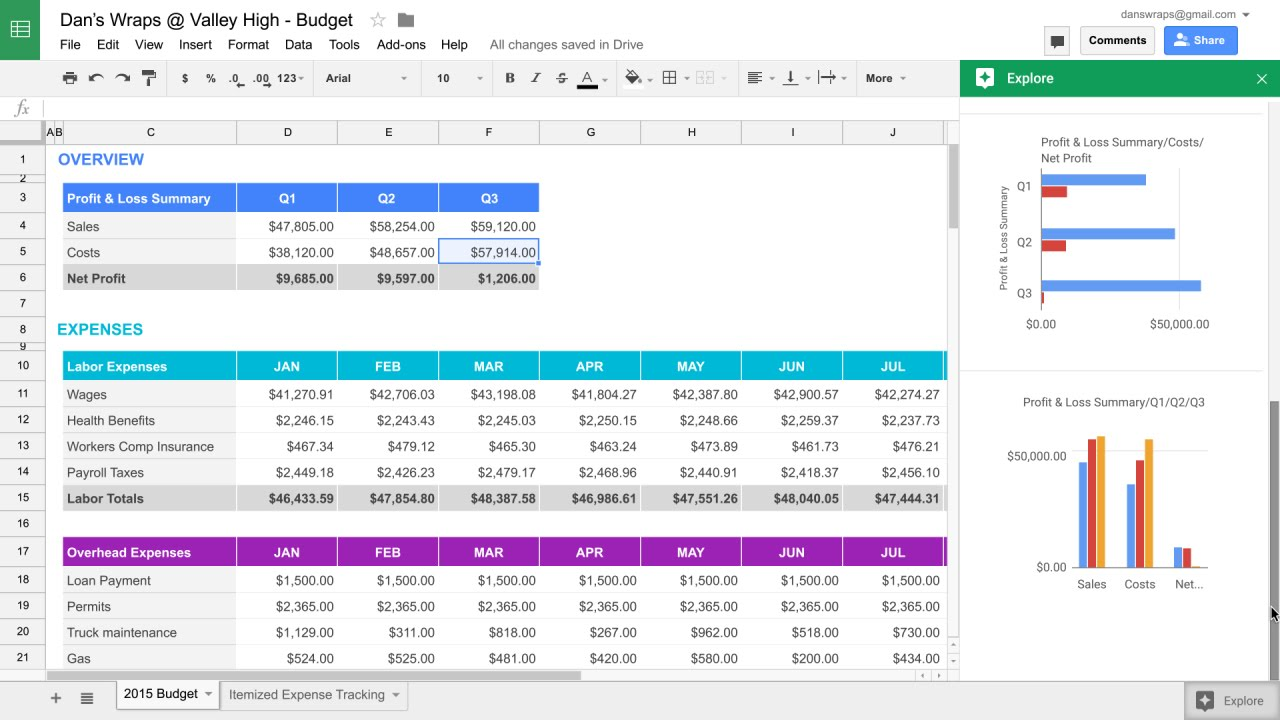 how to print google sheets on one page