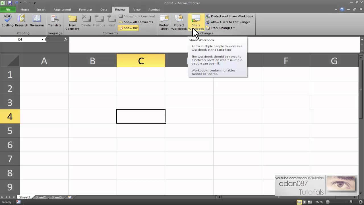 how to share a spreadsheet in google docs