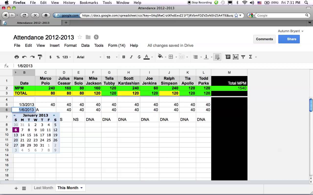 how to share excel spreadsheet in google docs