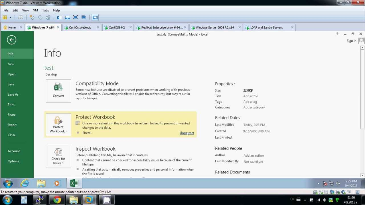 how to unlock xls file that is password protected