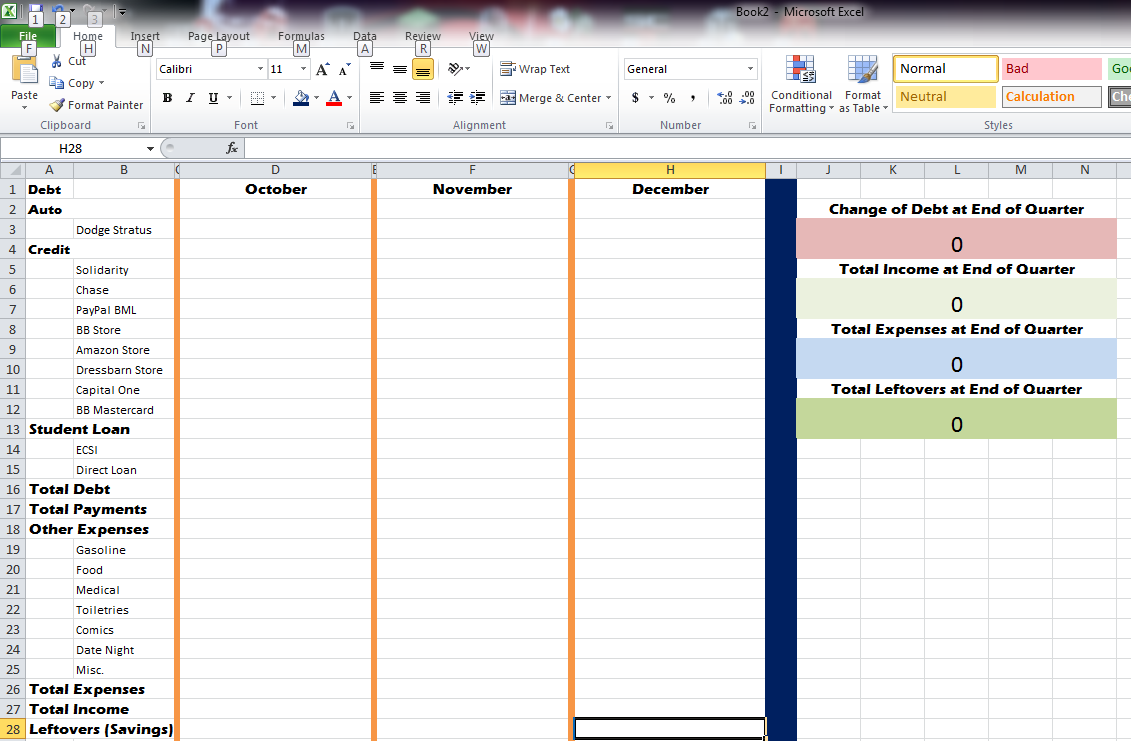 how to use excel spreadsheets