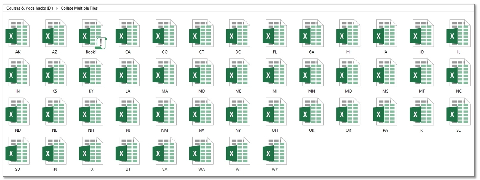 Excel 2007 combine worksheets into one sheet