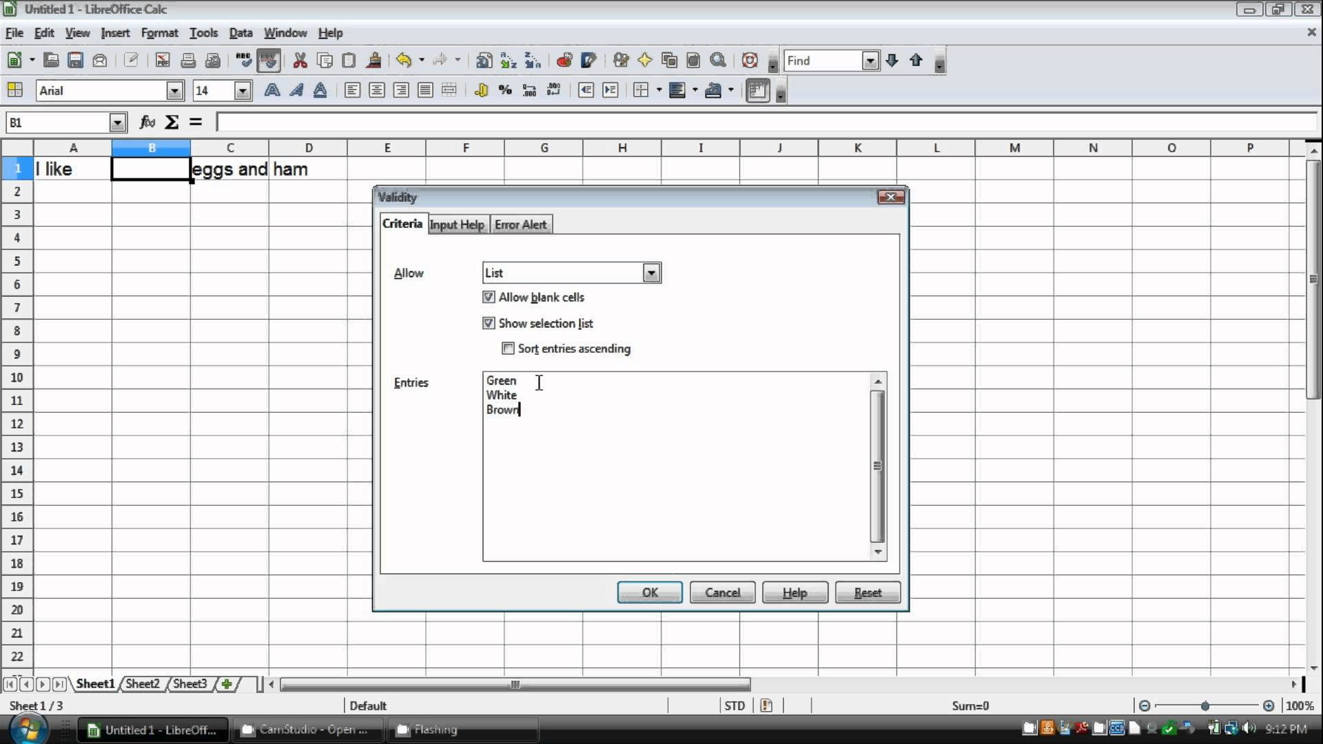 open office spreadsheet tutorial pdf