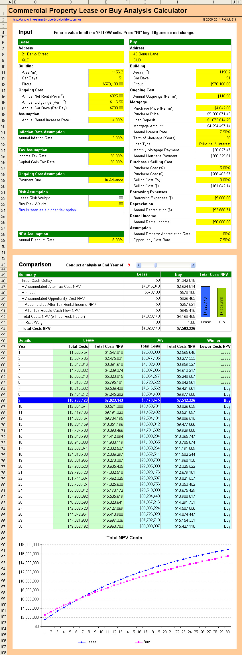 real estate flipping excel spreadsheet