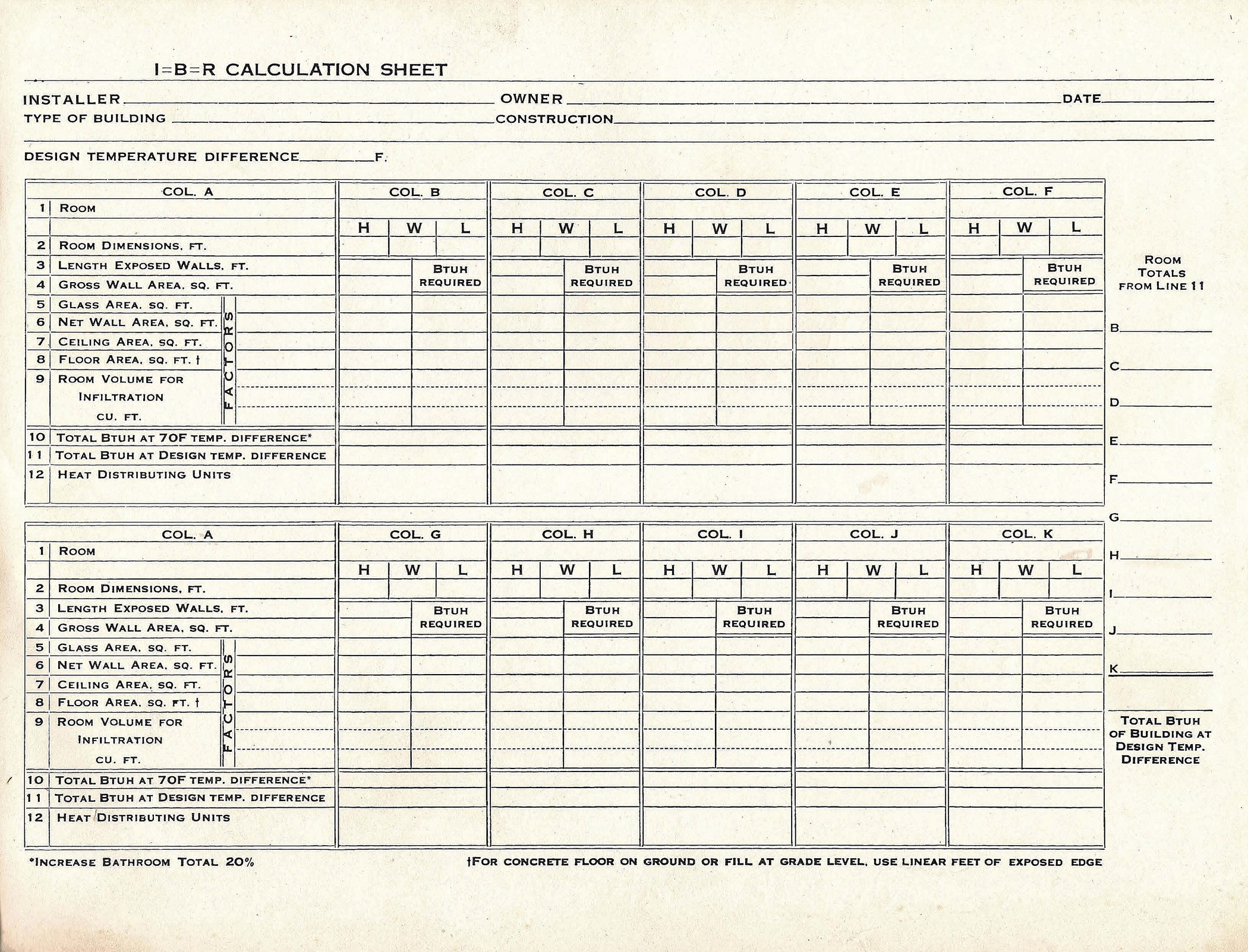 Residential Load Calculation Spreadsheet – Electrical Load Calculation Worksheet
