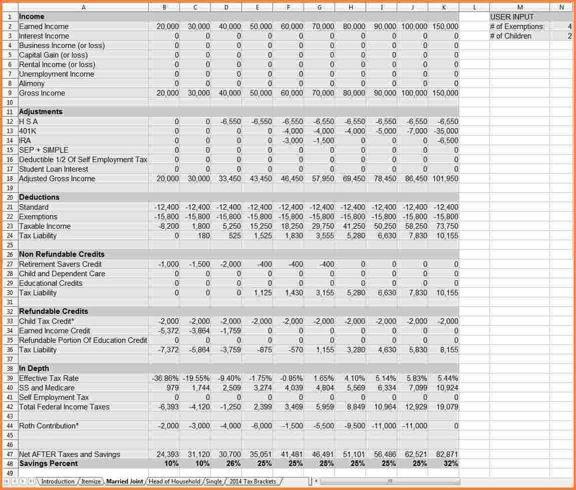 retirement financial planning spreadsheet