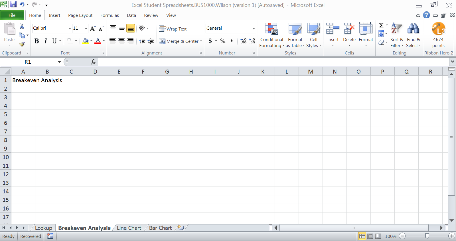 Break Even Analysis Spreadsheet LAOBINGKAISUOCOM