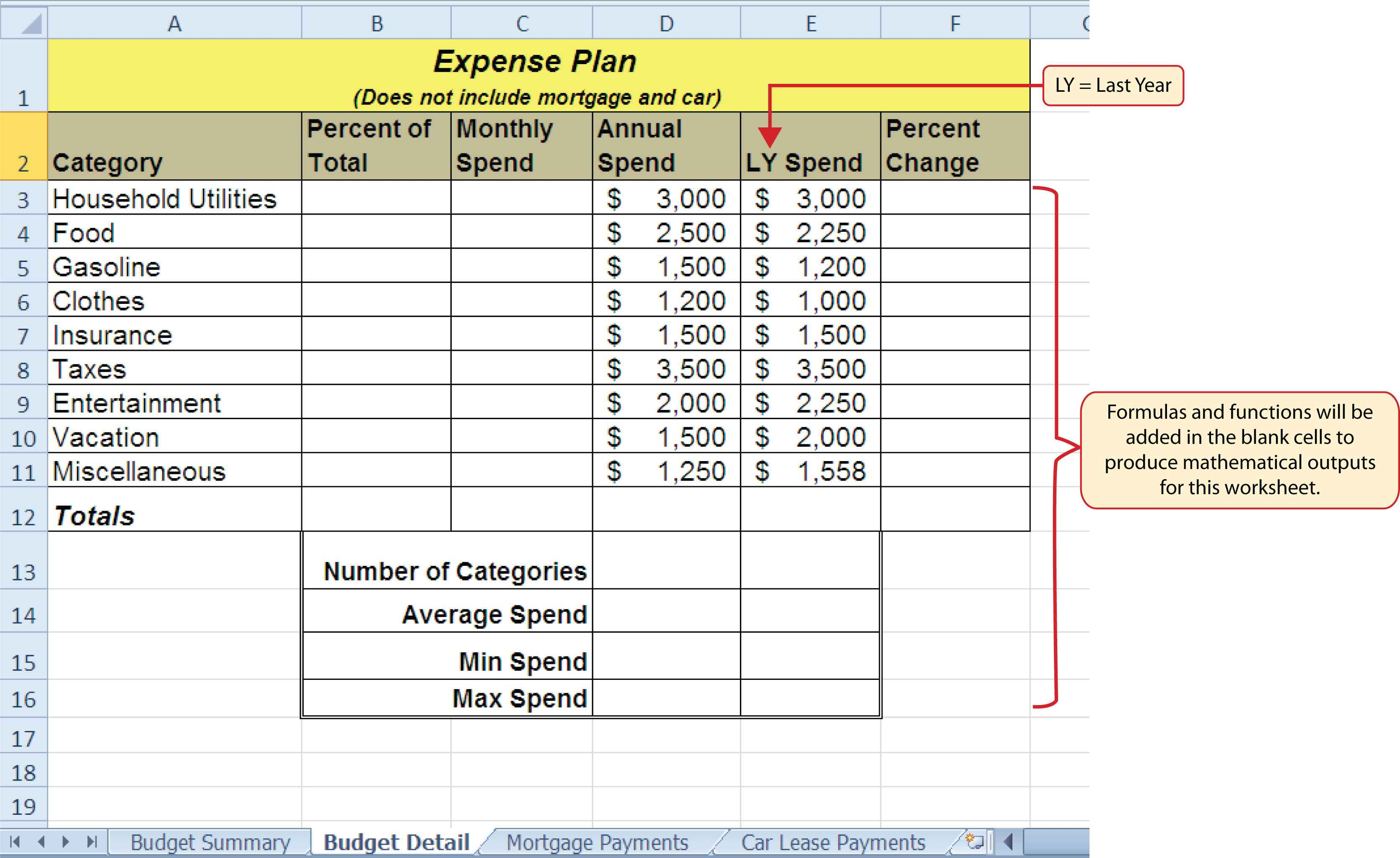 spreadsheet software definition and examples