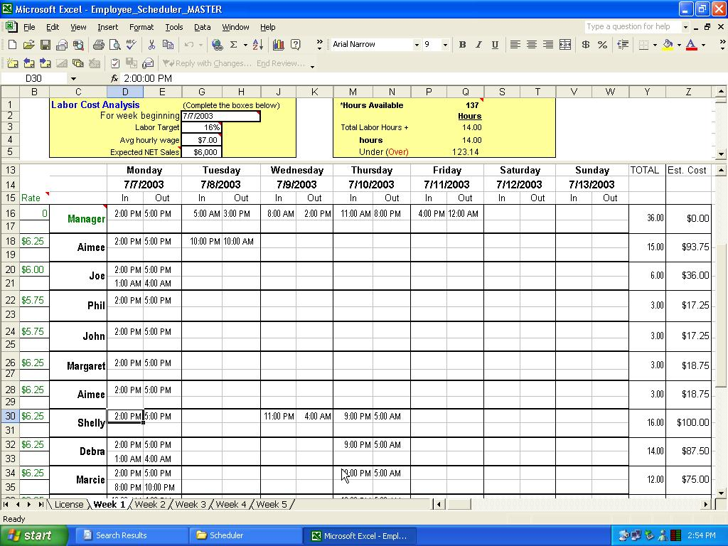 templates Vacation Time Accrual Spreadsheet