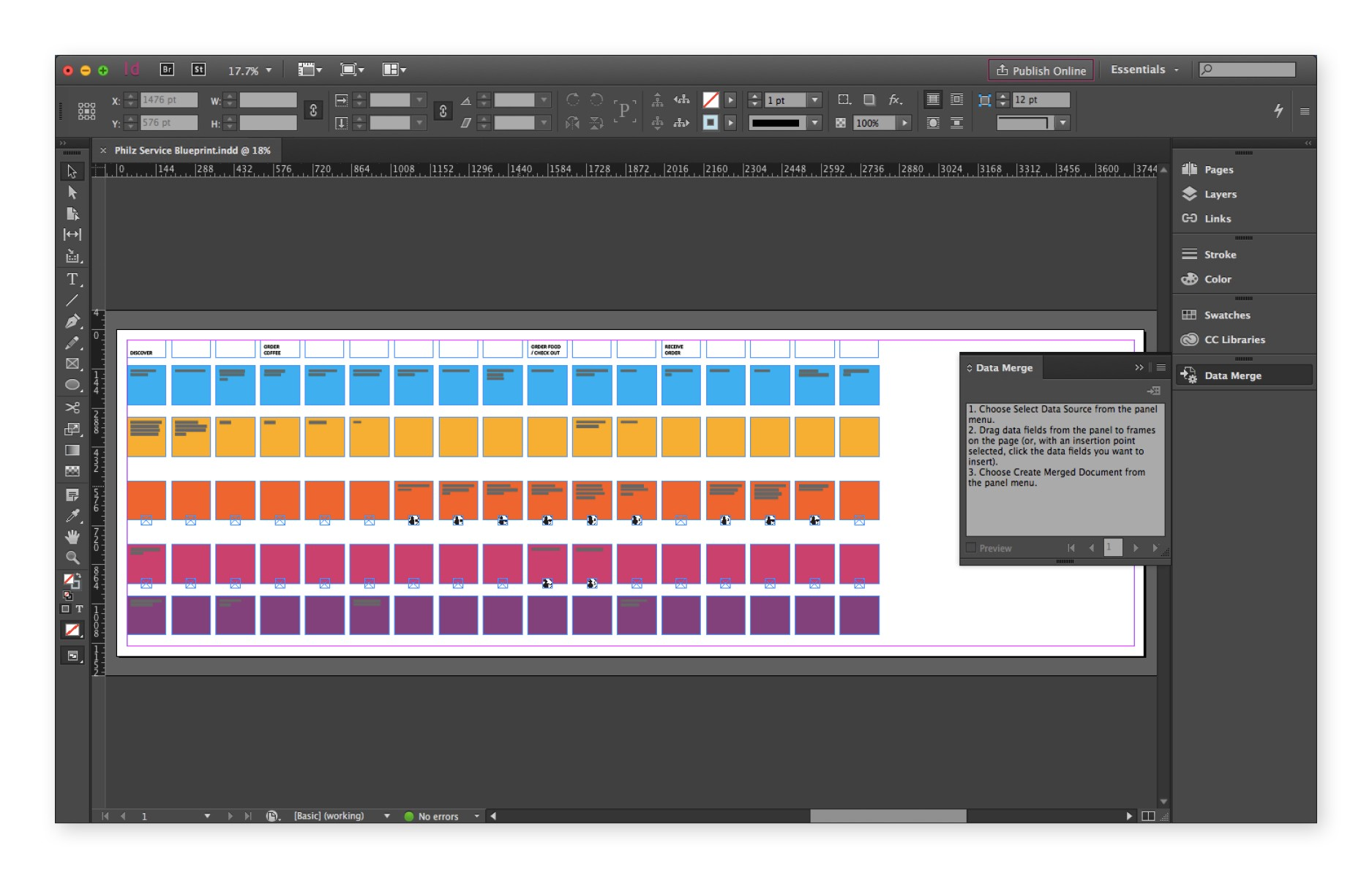 threading tables indesign